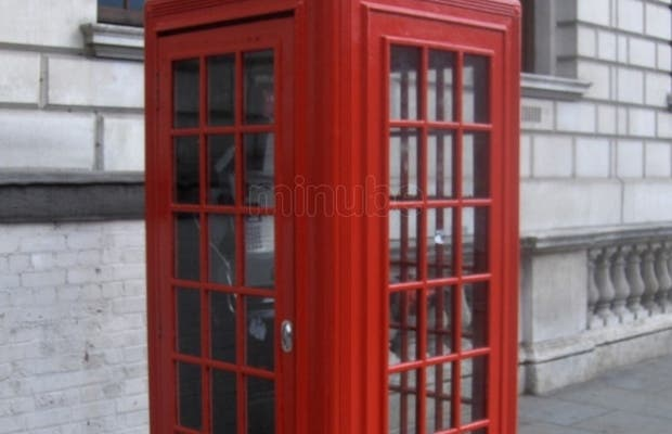 London red cabins