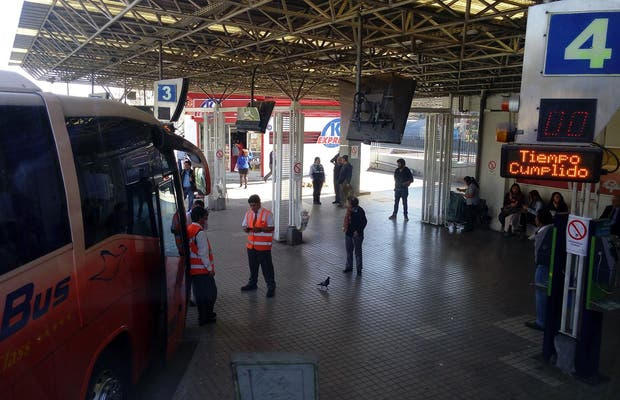 Terminal de Buses Pajaritos
