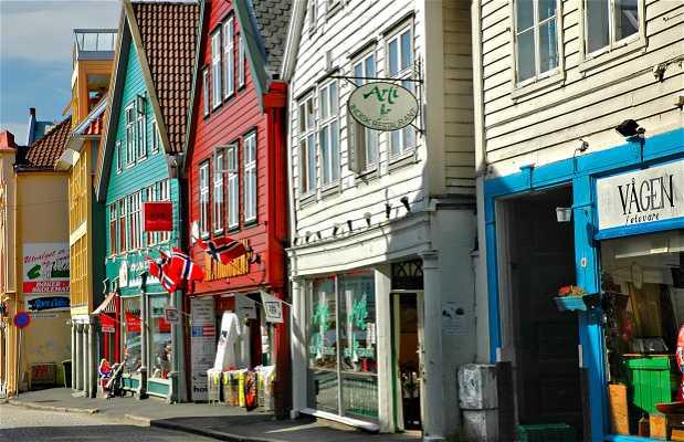 Strandgaten, Marken and Torgalmenningen Streets