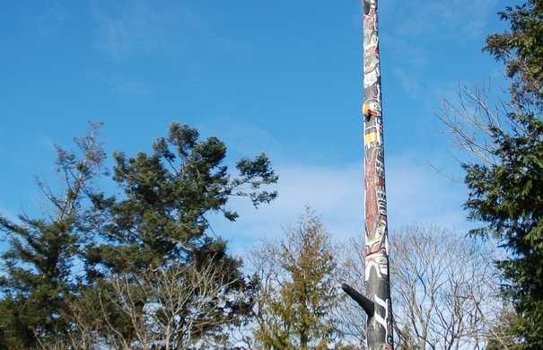El totem más alto del mundo