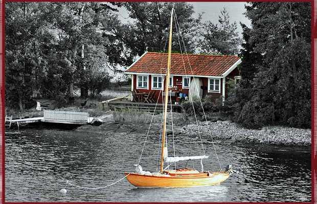 Navegar por el mar báltico en Estocolmo