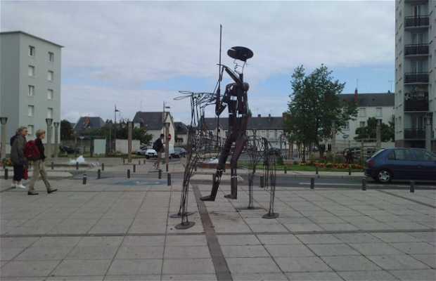 Statue don quichotte à Saint Pierre des Corps: 2 expériences et 7 photos