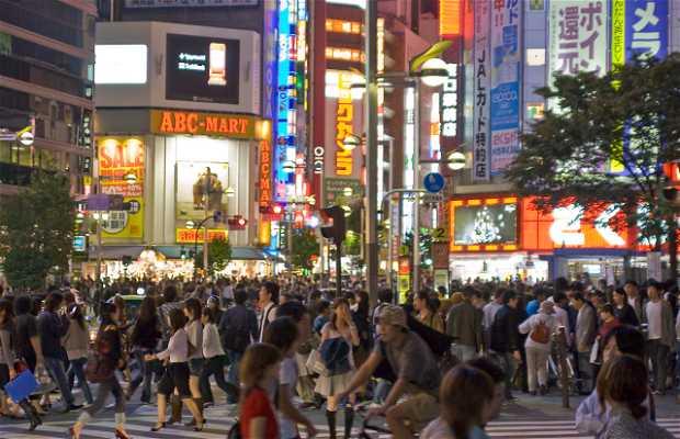 Quertiere Shinjuku a Tokio