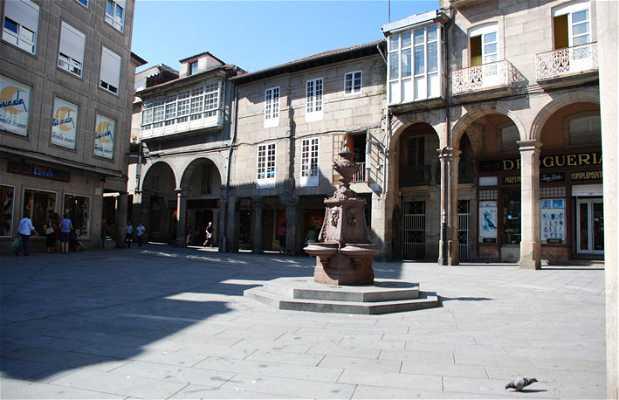 Curros Enríquez square