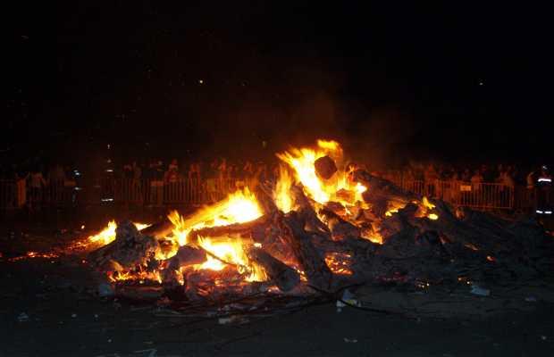 San Juanillo Bonfire