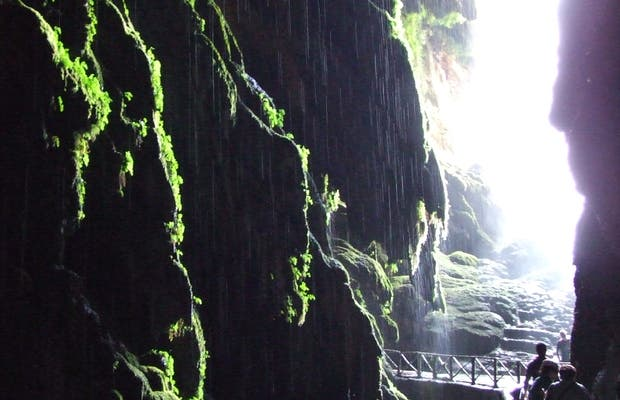 Cola de Caballo Grotto