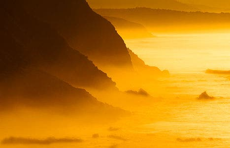 Barrika cliff