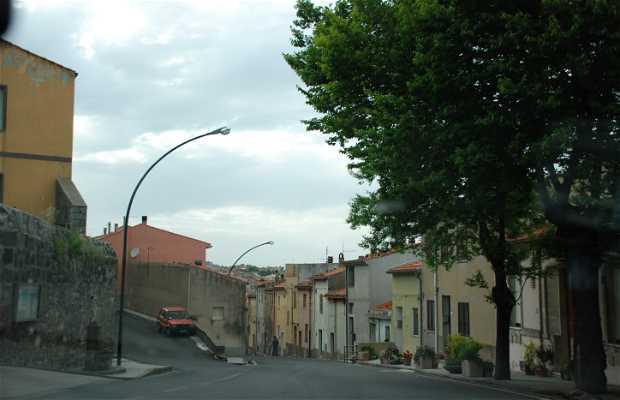 Calles de Villanova Monteleone