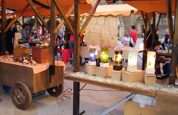 Il mercatino artigianale di Ponferrada