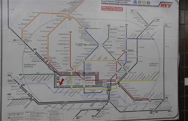 Le métro d'Hambourg