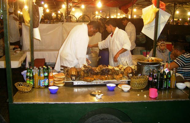Lamb Vendos in Jemaa El Fnaa