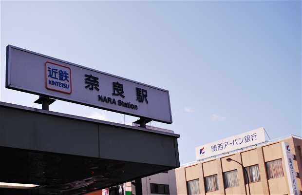 Estación de Kintetsu Nara
