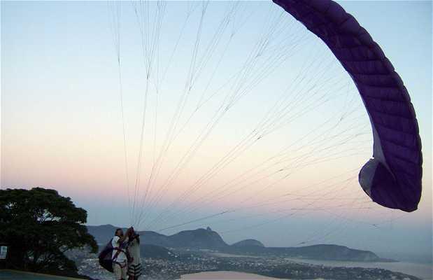 Paragliding in Niteroi