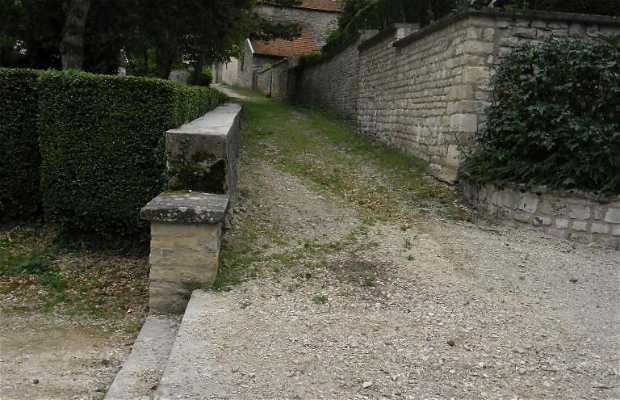 Les remparts de Vignory