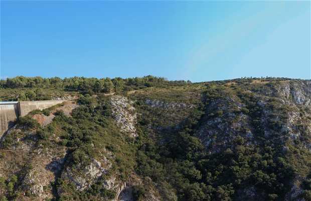 Il Monte Sainte Victoire sulle Alpi
