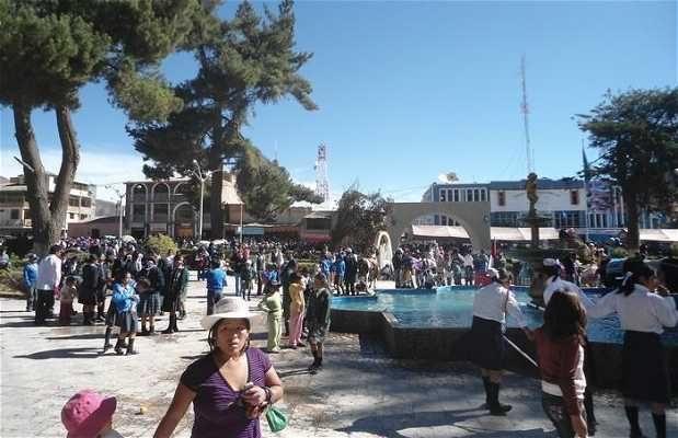 Plaza de Armas de Chivay