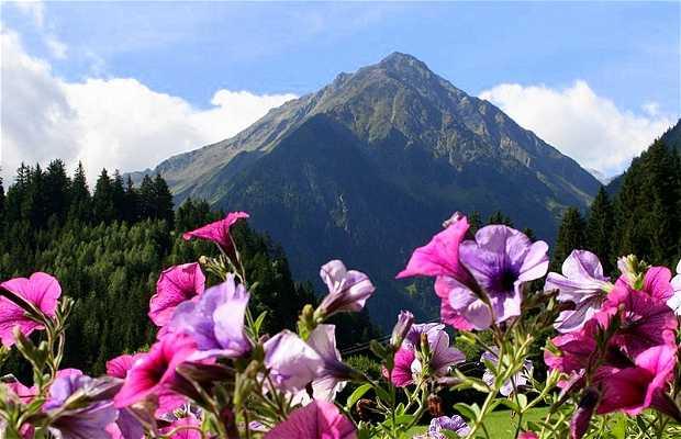 Montanhas de Tirol