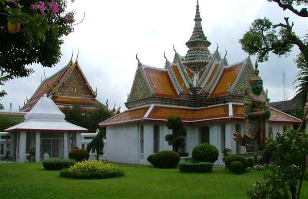 Wat Benchamabophit - Templo de marmol