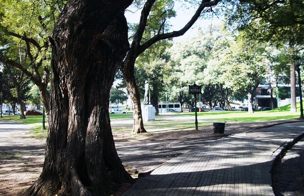Plaza General Bartolomé Mitre