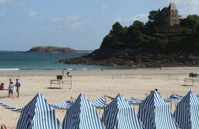 La playa de Dinard