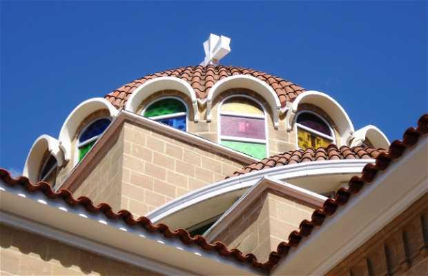 Holy Temple Agioy Georgioy de Aglantzia