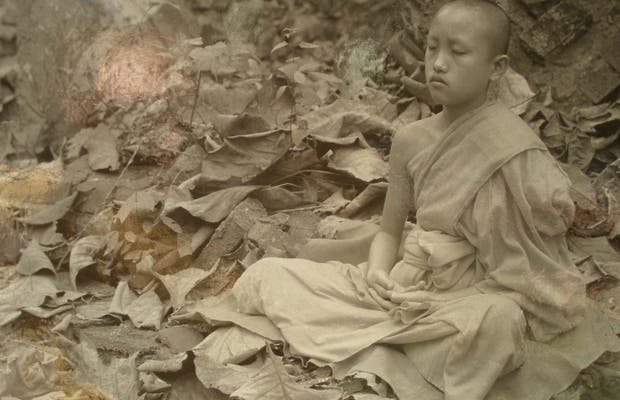 Buddisti in Laos