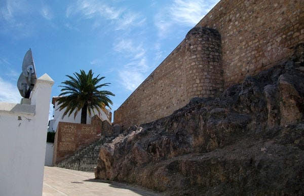 Walls of the Alcazaba of Antequera