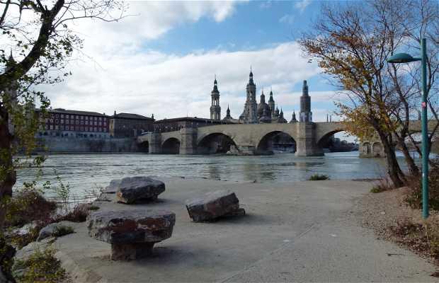 The banks of Zaragoza