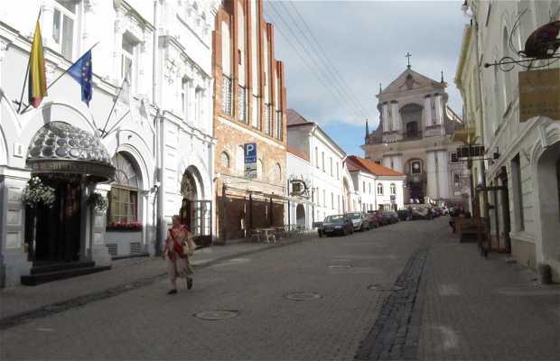 Quartier historique de Vilnius