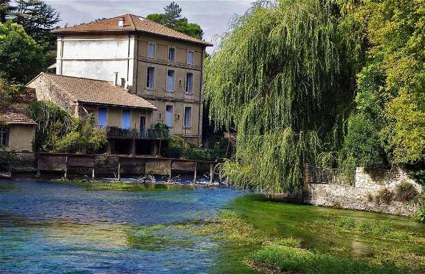 Gouffre de fontaine de vaucluse fontaine de vaucluse 2 - Fontaine de vaucluse office de tourisme ...