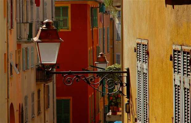 Parte vecchia di Nizza