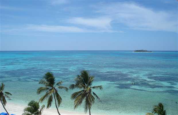 Beach San Andrés Island