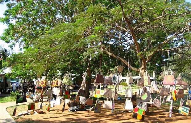 Feira de artesanato, flores e gastronomia de Maputo
