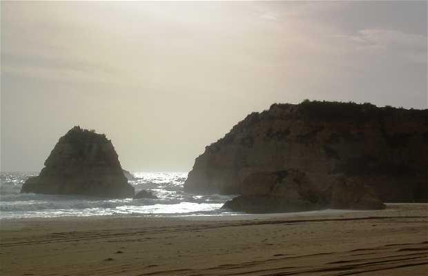 Chemin par la côte de Portimao