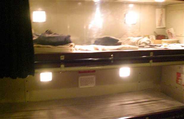 Vida en el submarino, Museo Imperial de la Guerra