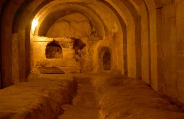 Eglises et caves souterraines