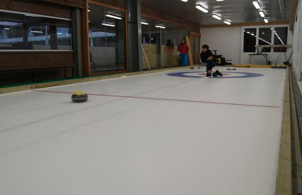 Curling Megève