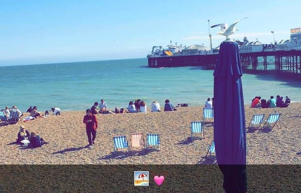 Brighton Pier - Undercliff Walk