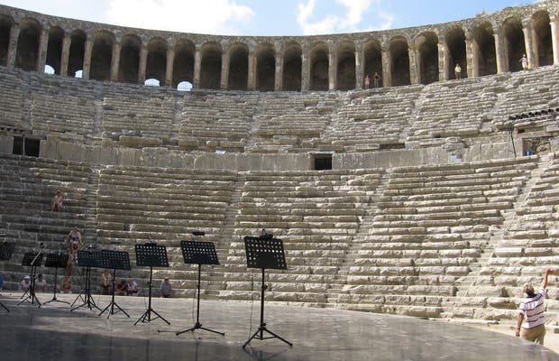 Anfiteatro de Aspendos