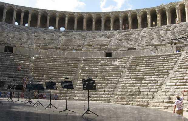 Il teatro romano di Aspendos