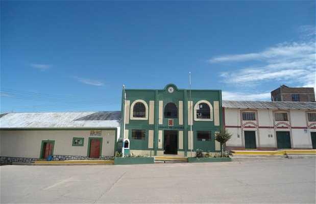 Plaza principal de Capachica