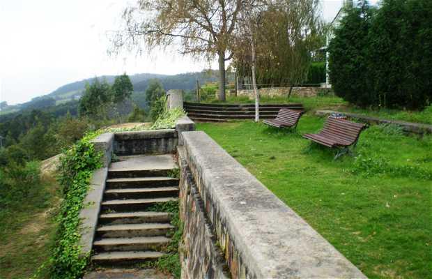 Viewpoint of Santa Cruz