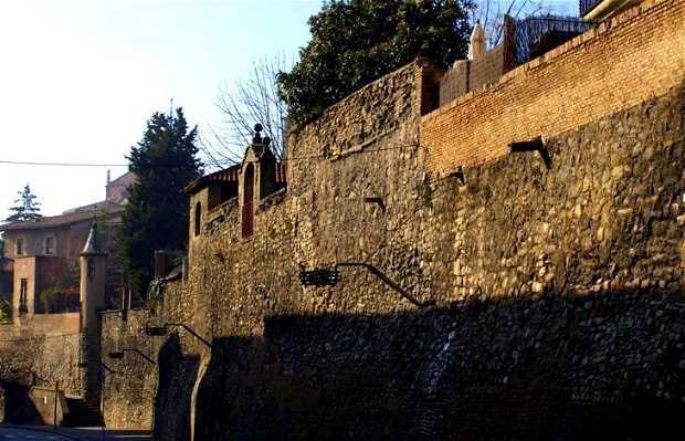 Muralla de Pere III, Rambla de los Montcada