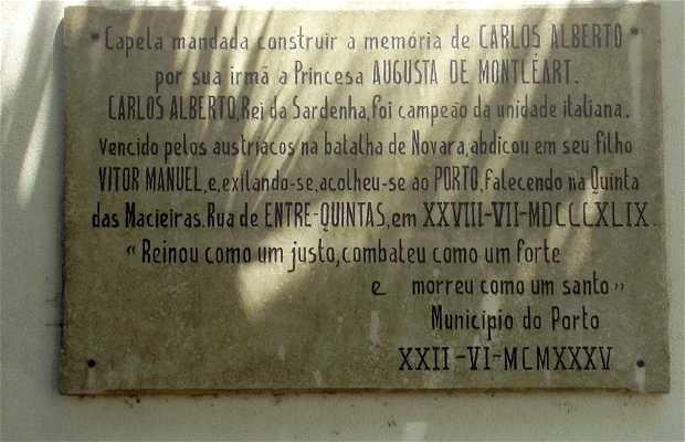 Capela o Capilla de Carlos Alberto