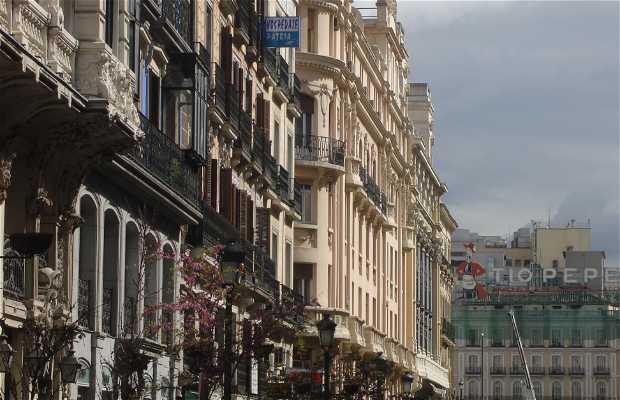 Calle Mayor a Madrid