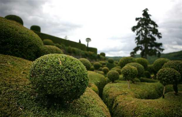 Le bastion, jardins de Marqueyssac
