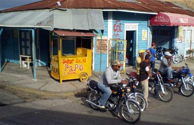 Mototaxi di Higüey