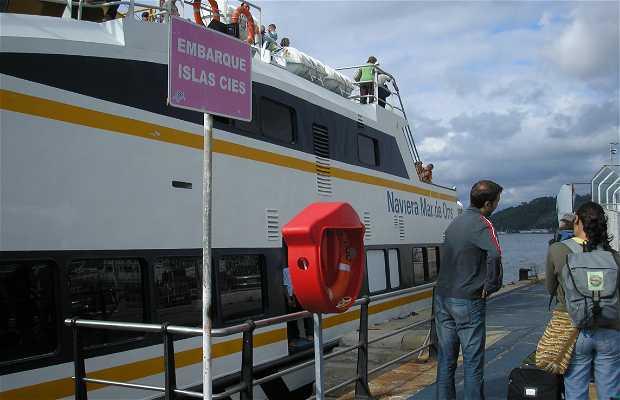 Barco de Vigo a Cies