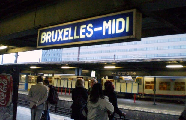 Estación de tren Bruxelles-Midi