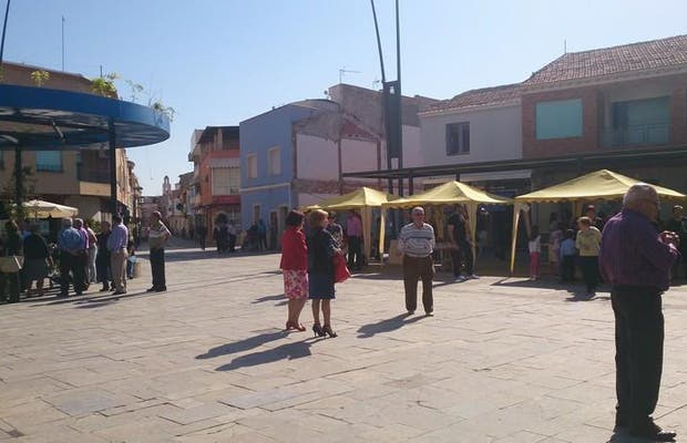 Plaza principal de Ceuti